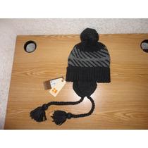Padrísimo Gorro Hugo Boss (falone Hat) Negro 100% Original