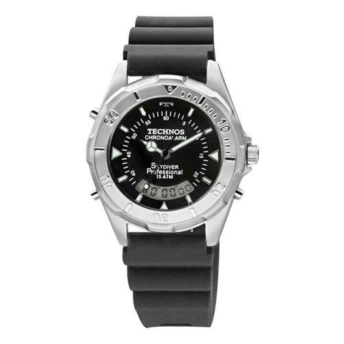 2fe4e36263d Relógio Technos Masculino Performance Skydiver T20562 8p - R  399