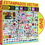 Pack Vectores Estampado Vinil Serigrafia Sublimacion Plotter