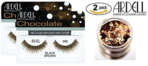 14680a1224c Ardell Professional Chocolate Lashes, 886 Black/brown (2-pac ...