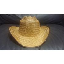 Sombrero Texano Paja Palma Barato Fiesta Evento Adulto