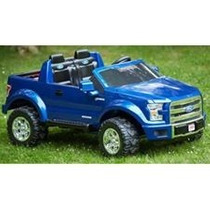 Carro Montable Para Niños Power Whels Ford F150 12volts Azul