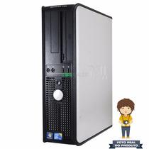 Computador Dell Optiplex 780 Core2quad 2.4ghz, 4g Ddr3, 250g