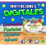 Invitaciones Digitales...imprimelas O Envíalas Por Redes