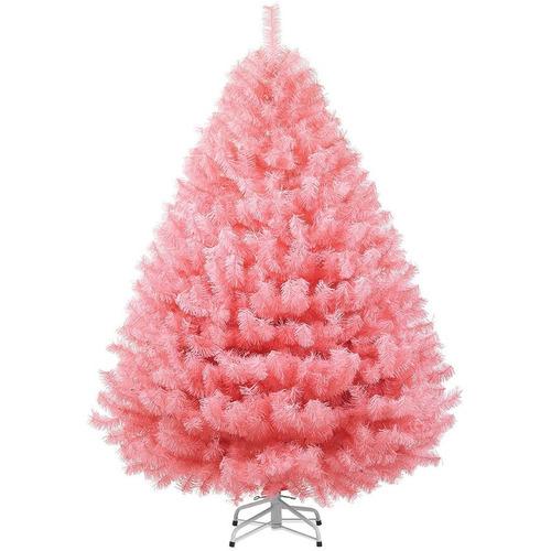 Arbol de navidad naviplastic sierra 175 cms rosa 1 669 - Arboles de navidad rosa ...