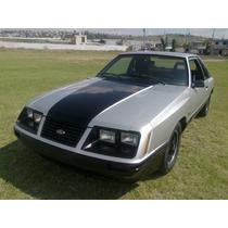 Ford Mustang Fastback Burbuja Svo 1984 Original.