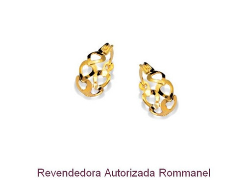 d149afc645be4 Brinco Rommanel Argola Corações Vazados Med. 1,5 Cm 523351 - R  29,90 em  Mercado Livre