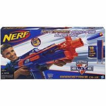 Nerf Cs-18 N-strike Elite Rapidstrike + Munição Grátis