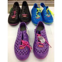 Zapatos Playeros De Plastico Ligeros Y Comodos Para Damas