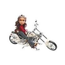Boneca Bratz Yasmin Motocicleta Eletrônica Gulliver Única!!