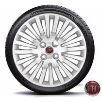 Calota Aro 15 Fiat Novo Palio 2013 Punto 2011 2012 Novo Uno