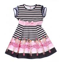 Vestido Infantil Feminino Bailarina