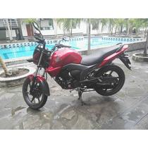 Honda Cb150 Invicta Color Rojo