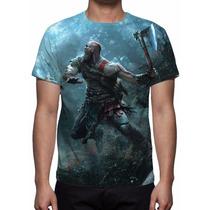 Camisa, Camiseta Game God Of War 2016 - Estampa Total