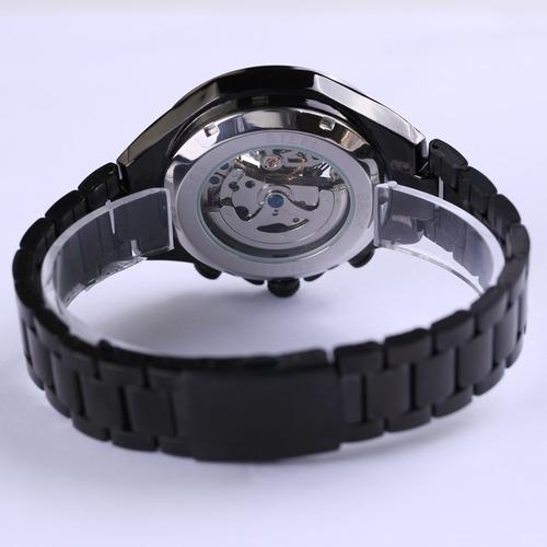 50e8f547ac5 relógio unisex mecânico artesanal maquinário feito a mão. Carregando zoom.