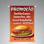 Banner Lona Loja Propaganda Festas Casamento 100 X 150 Cm