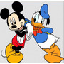 Kit Imprimible Mickey Mouse Y Donald Full Fiesta