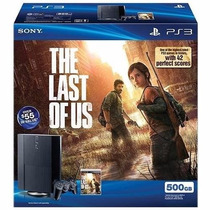 Play 3 Combo Ps3 500 Gb+ Juego Last Of Us Original+ Fc A O B