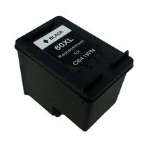 Cartucho Hp 60 Xl Black Compatível Novo