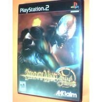 Shadow Man 2econd Coming (587) Ps2 Completo C/ Caja Y Manual