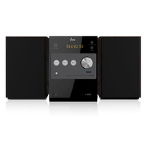 Microcomponente Digital Bluetooth Bocinas Madera Yes Mcy 29