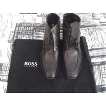 Zapatos Hugo Boss Negros Caram Talla Us 10 Uk 9 México 8.5-9