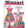 Revista 10 Moldes Tallas 2-10 Vestidos Niña Minauri Nro. 13