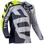 Jersey Fox 180 Nirv Gris Talla L Motocross Mtb Downhill