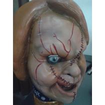 Máscaras De Látex Chucky Doll Terror Chasco Joda Coleccion