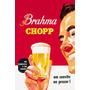 Cerveja - Trio De Placas P/ Decoração - Bar Lanchonete