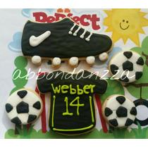 Galletas Decoradas Futbol Deportes Balones Tenis Mamuts