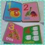 Libro Didáctico Niño Niña Bebé Números Abecedario Educación