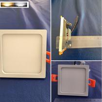 Panel Led 8w Ultraslim C/driver Incorporado Directo A 127v