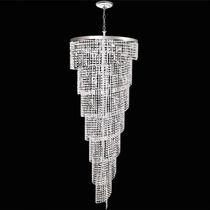 Lustre Cristal Iluminacao Parede Sala Led 2406-7-ls1mt Mr