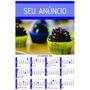Calendário 2016 Personalizado - 100 Unidades
