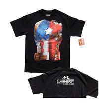 Playera Civil War Capitan America Iron Man Marvel Original