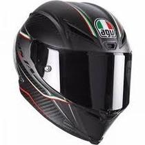 Capacete Avg Racing Gran Premio Italia (fibra Carbono)