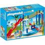 Retromex Playmobil 6670 Zona Juegos Acuática Alberca Ciudad