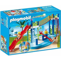 Playmobil 6670 Zona Juegos Acuática Alberca Ciudad Retromex