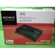 Potencia Sony Xm-n1004 4 Canales 1000 Wats