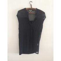 Camisa Con Transparencias Zara