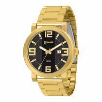 Relógio Masculino Xgames Xmgs1002 P2kx Dourado Aço Nfe