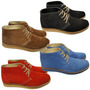 Zapato Botita Gamuzada
