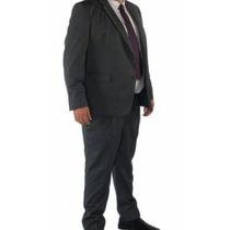Terno Plus Size Masculino + Calça Com Regulagem Tam:62 A 72