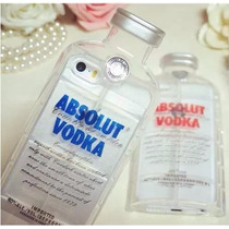 Funda Iphone 5/5s/se Botella Vodka Absolut +envio +regalos