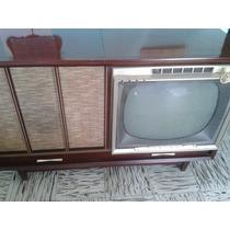 Consola Tocadiscos Radio Tv Magnifico De 1959 Admiral De Bu
