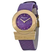 Fp Gancino\ Oro Rosa Ion-plateada Reloj Salvatore Ferraga