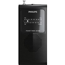Radio De Bolso Torcedor Am Fm Alto Falante Philips + Frete