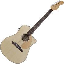 Violão Fender Elétrico Folk Dreadnought Redondo Ce Natural