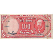 !!! Chile 100 Pesos 10 Centesimos De Escudo S/c Imperdible !